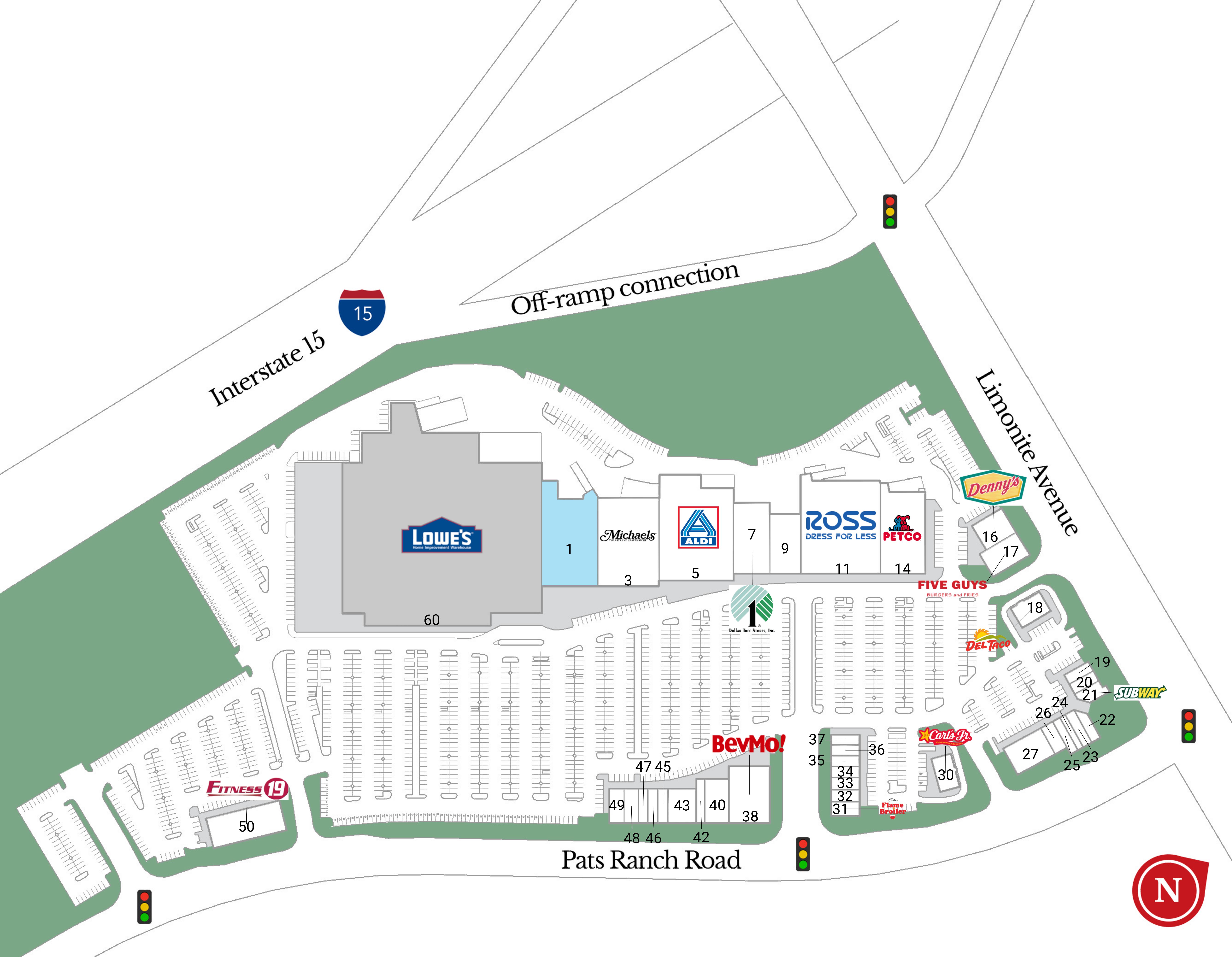 Mira Loma CA: Vernola Marketplace - Retail Space - Merlone Geier ...