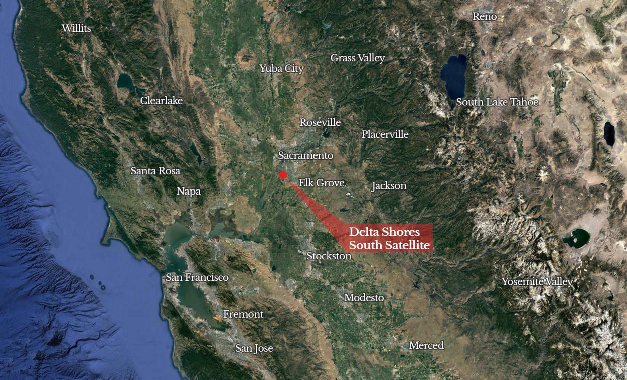 Delta Shores South Satellite